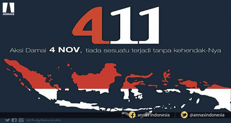 PRESIDEN TAK HADIRI AKSI DAMAI 4/11, DR. TIAR ANWAR: PRESIDEN ADA TEKANAN DARI PARTAI