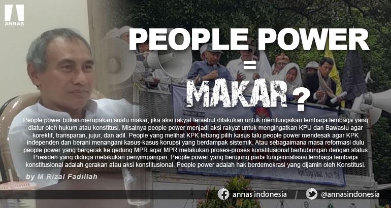 PEOPLE POWER = MAKAR ?