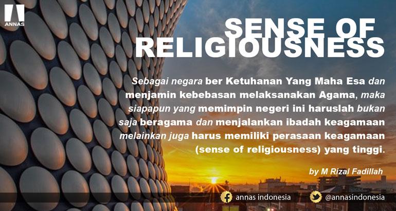 SENSE OF RELIGIOUSNESS