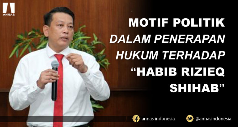 MOTIF POLITIK DALAM PENERAPAN HUKUM TERHADAP