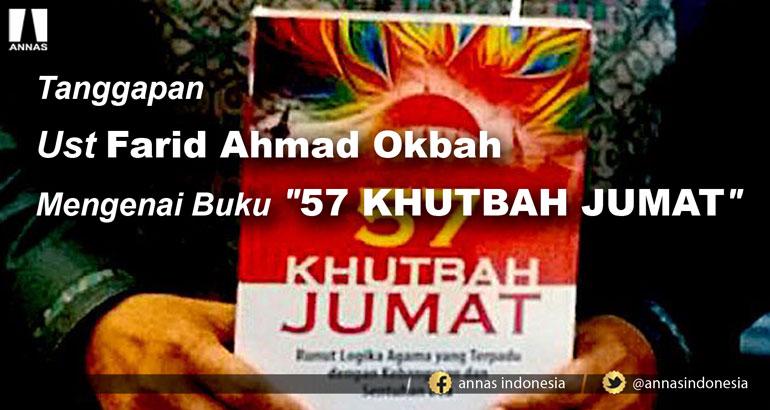 Tanggapan Ust Farid Ahmad Okbah Mengenai Buku