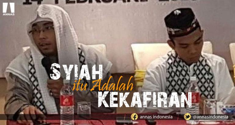 Maaher At-Tuwailibi : SYIAH ITU ADALAH KEKAFIRAN !