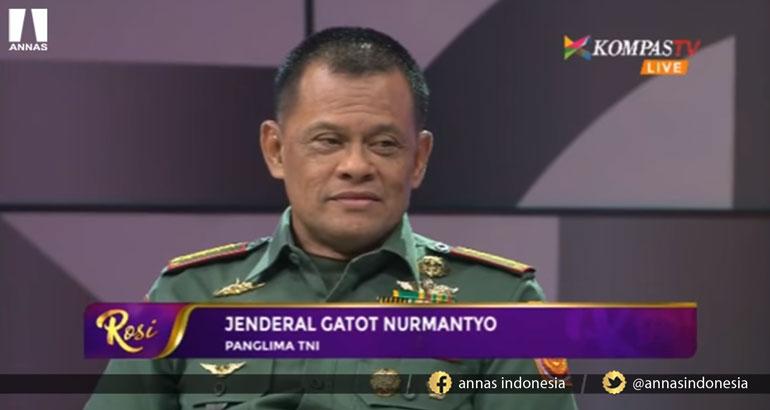BELA ISLAM, PANGLIMA TNI GATOT NURMANTYO KASIH PELAJARAN KE KAPOLRI DAN LUHUT PANJAITAN