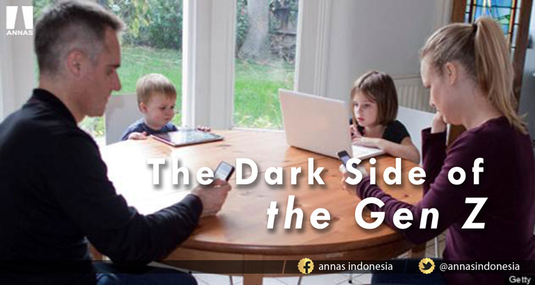 THE DARK SIDE OF THE GEN Z