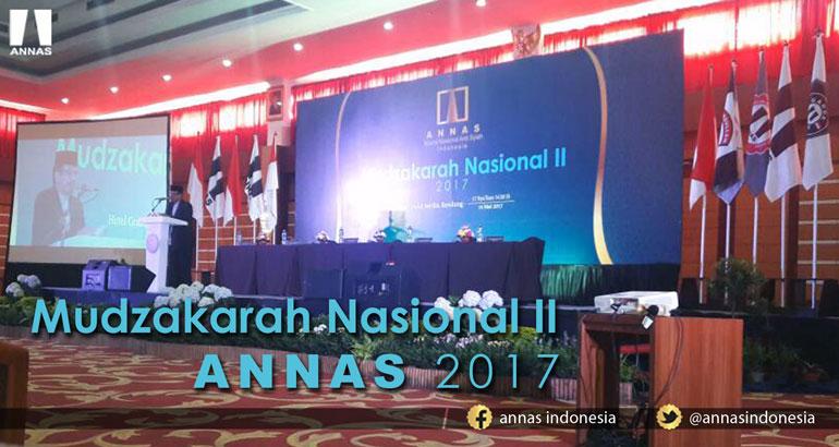 MUDZAKARAH NASIONAL II ANNAS 2017