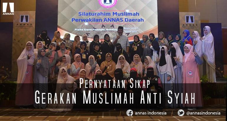 Pernyataan Sikap Gerakan Muslimah Anti Syiah