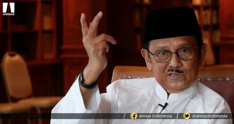 JK Permasalahkan Azan, Beda Habibie : MASJID HARUS JADI GARDA TERDEPAN TINGKATKAN KUALITAS SDM !!