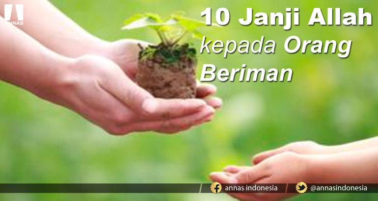 10 JANJI ALLAH KEPADA ORANG BERIMAN