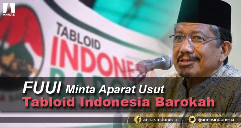 FUUI Minta Aparat Usut Tabloid Indonesia Barokah