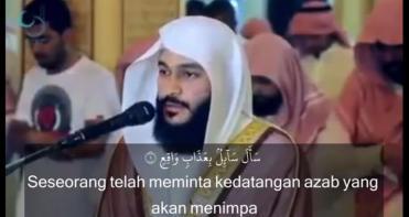 RENUNGAN JUM'AT : BACAAN MERDU QS AL MA'ARIJ 1-35 SYEIKH ABDUL RAHMAN AL AUSIY