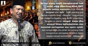 UMMAT ISLAM MENOLAK PERINGATAN ASY SYURA SYIAH