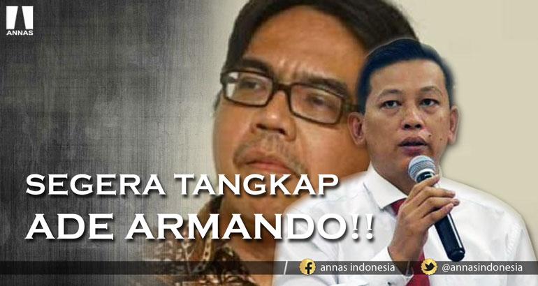 SEGERA TANGKAP ADE ARMANDO !!