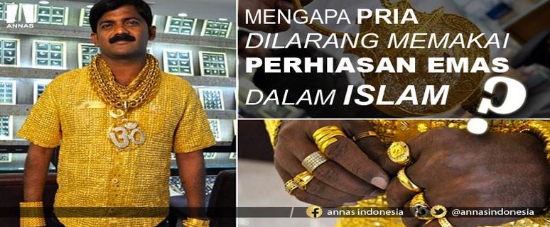 INI ALASAN ILMIAH ISLAM MELARANG PRIA PAKAI EMAS