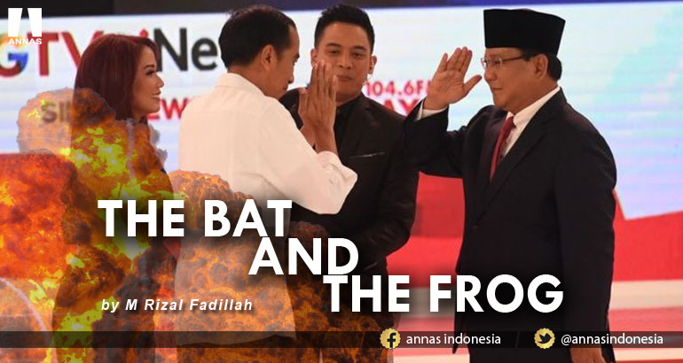 THE BAT AND THE FROG