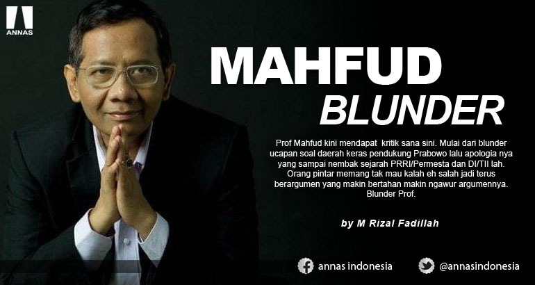 MAHFUD BLUNDER