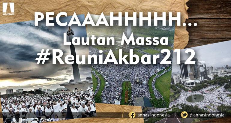 PECAAAHHHHH... LAUTAN MASSA #REUNIAKBAR212