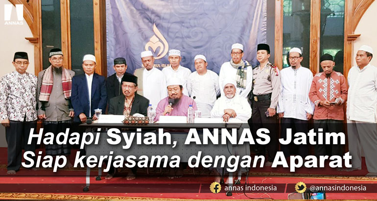 HADAPI SYIAH, ANNAS JATIM SIAP KERJASAMA DENGAN APARAT
