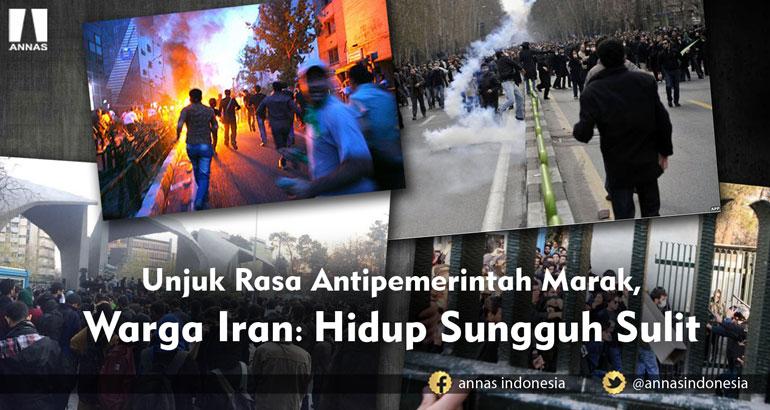 Unjuk Rasa Antipemerintah Marak, WARGA IRAN: HIDUP SUNGGUH SULIT