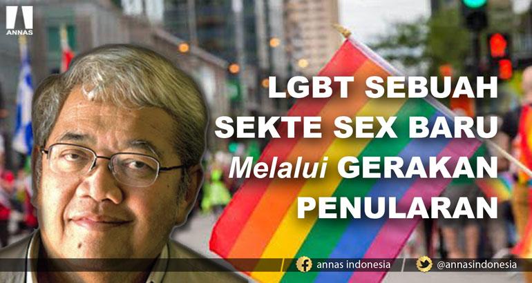 LGBT SEBUAH SEKTE SEX BARU Melalui GERAKAN PENULARAN SEDUNIA