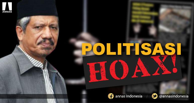 POLITISASI HOAX