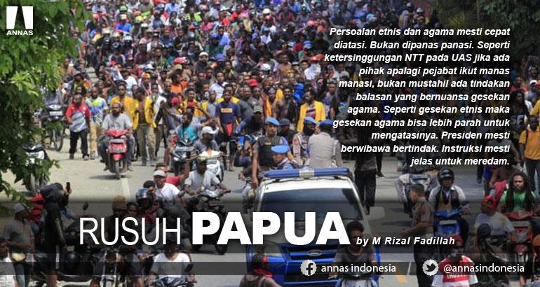 RUSUH PAPUA