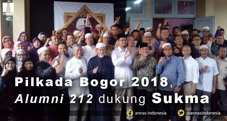 PILKADA BOGOR 2018, ALUMNI 212 DUKUNG SUKMA