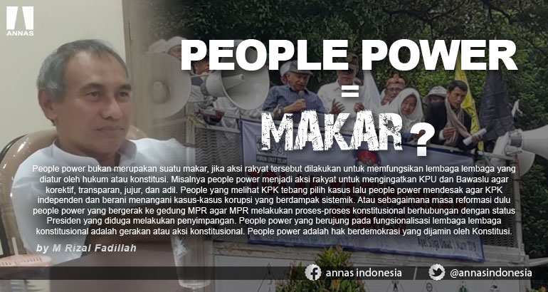 PEOPLE POWER = MAKAR ?