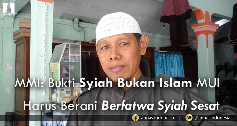 HAJI DI KARBALA, MMI: BUKTI SYIAH BUKAN ISLAM MUI HARUS BERANI BERFATWA SYIAH SESAT