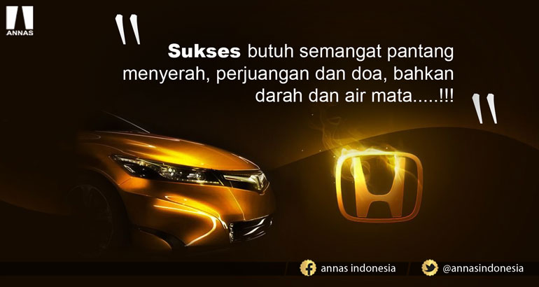 SUKSES ADALAH HASIL SEBUAH PROSES PERJUANGAN !!!