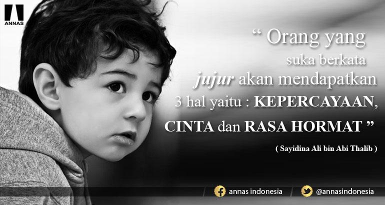 INILAH CARA AJARI ANAK UNTUK JUJUR   ANNAS Indonesia