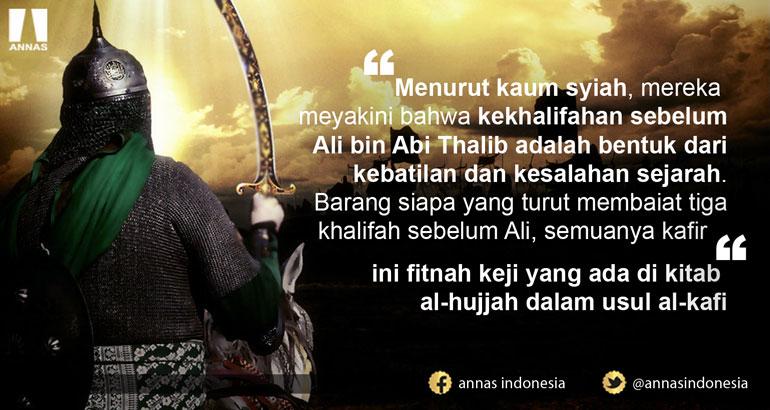 MENURUT KAUM SYIAH TENTANG KEKHALIFAHAN | ANNAS Indonesia