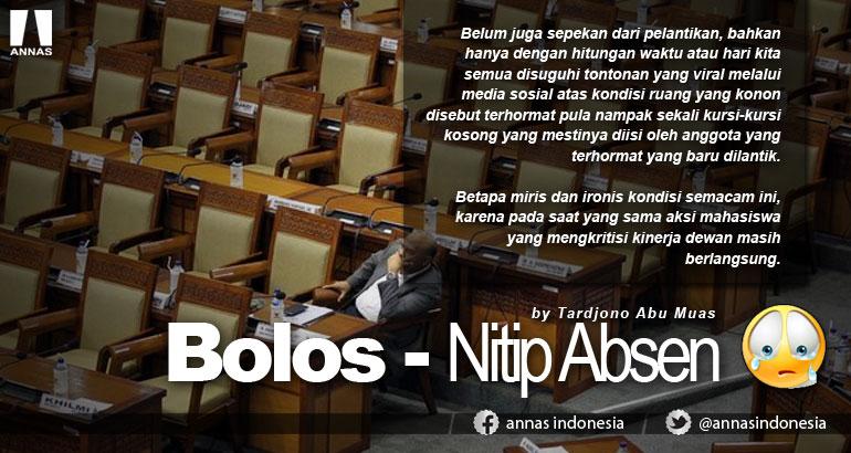 BOLOS - NITIP ABSEN