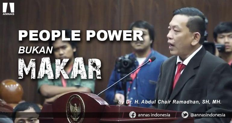 PEOPLE POWER BUKAN MAKAR