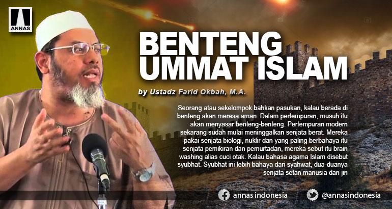 BENTENG UMMAT ISLAM