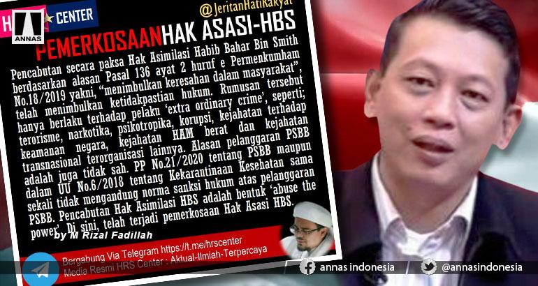 PEMERKOSAAN HAK ASASI HABIB BAHAR BIN SMITH