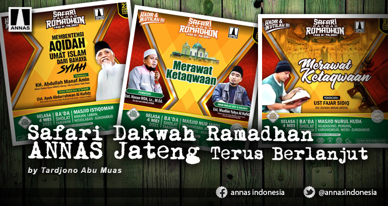 Safari Dakwah Ramadhan ANNAS Jateng Terus Berlanjut
