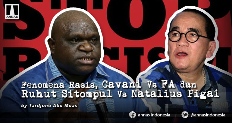 Fenomena Rasis, Cavani Vs FA dan Ruhut Sitompul Vs Natalius Pigai