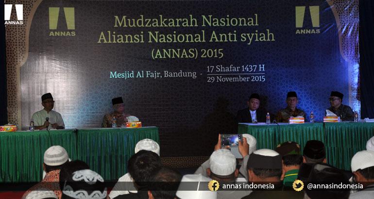 MUDZAKARAH NASIONAL - ALIANSI NASIONAL ANTI SYIAH - 29 NOVEMBER 2015 (bag. 1)