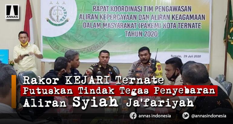Aliran Syiah Jafariah Jadi Pembahasan di Rakor Kejari dan Tim Pakem
