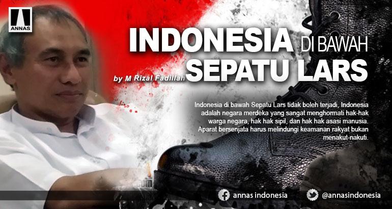 INDONESIA DI BAWAH SEPATU LARS