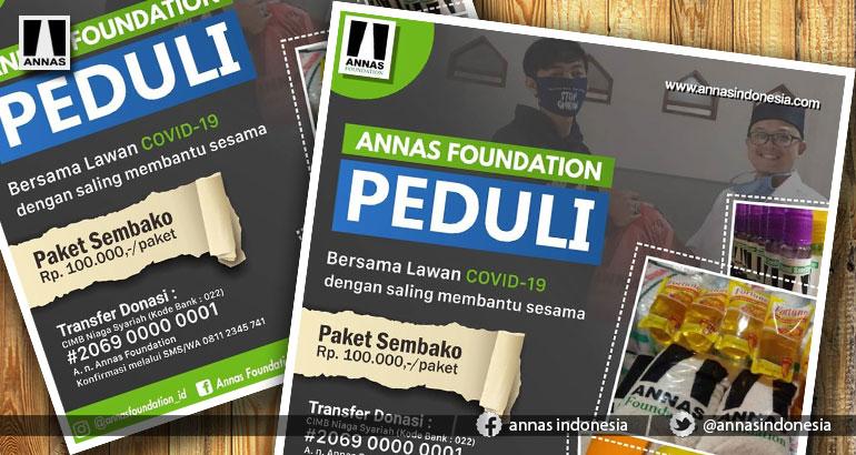 ANNAS FOUNDATION PEDULI COVID-19 #2