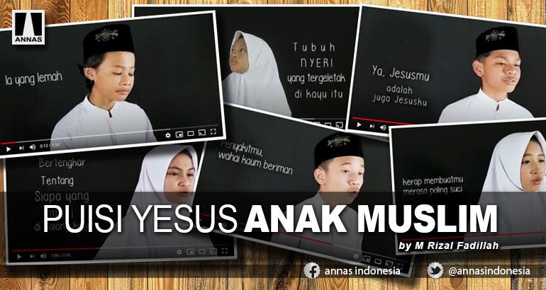 PUISI YESUS ANAK MUSLIM