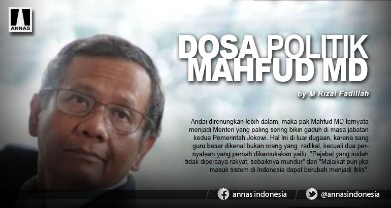 DOSA POLITIK MAHFUD MD