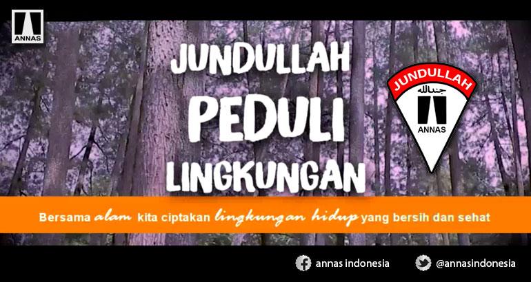 JUNDULLAH ANNAS PEDULI LINGKUNGAN - Tahura Ir H Juanda - Dago Pakar, Bandung