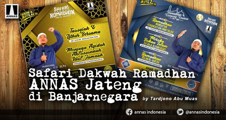 Safari Dakwah Ramadhan ANNAS Jateng di Banjarnegara