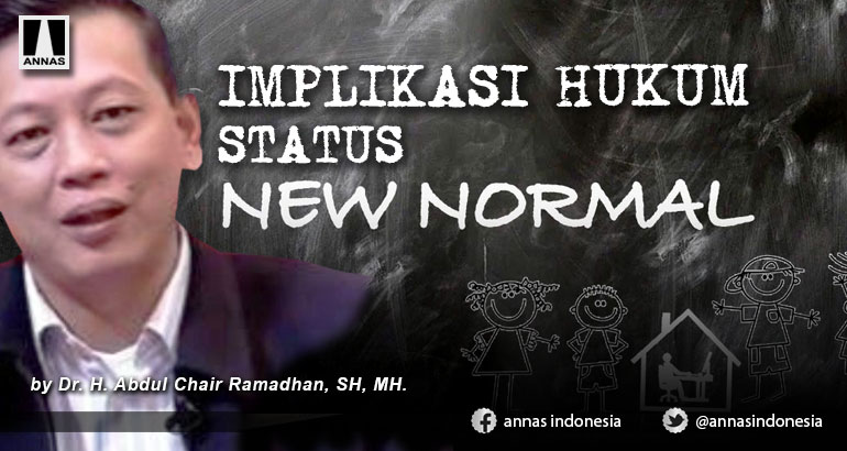 IMPLIKASI HUKUM STATUS NEW NORMAL