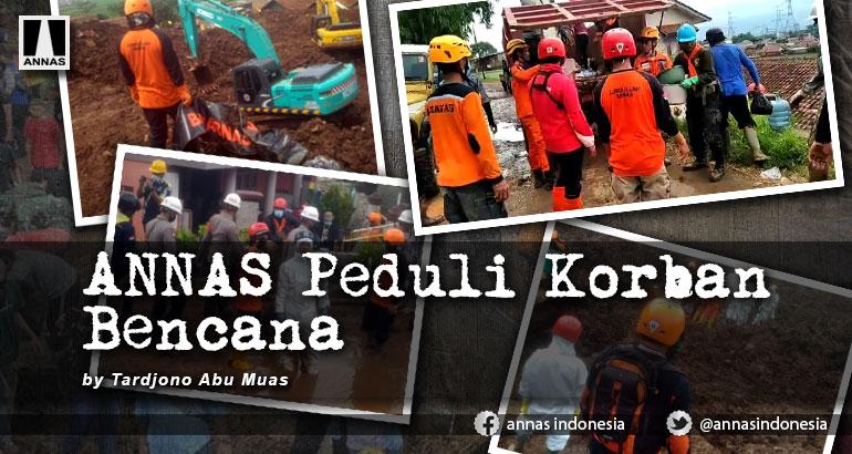ANNAS Peduli Korban Bencana
