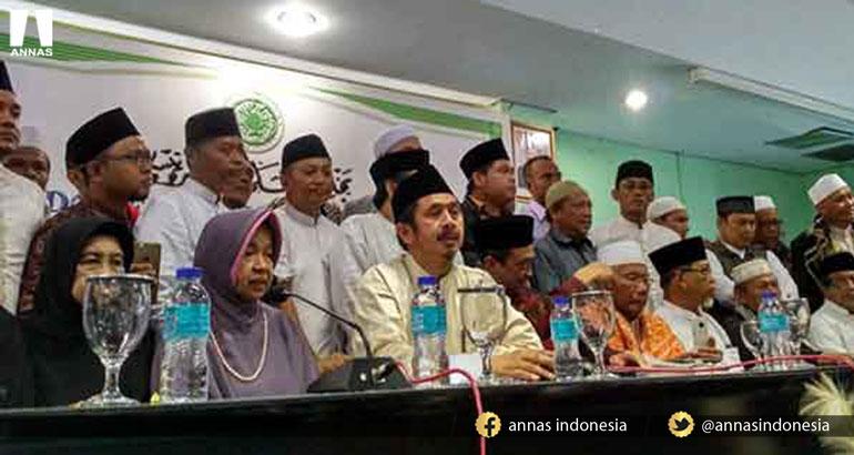 CATATAN KONFERENSI PERS SELURUH ORMAS ISLAM DAN GERAKAN NASIONAL PENGAWAL FATWA MAJELIS ULAMA INDONESIA (GNPF-MUI)