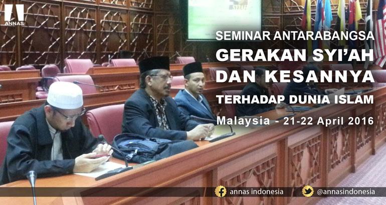RESOLUSI SEMINAR ANTARABANGSA GERAKAN SYI'AH DAN KESANNYA TERHADAP DUNIA ISLAM - Malaysia