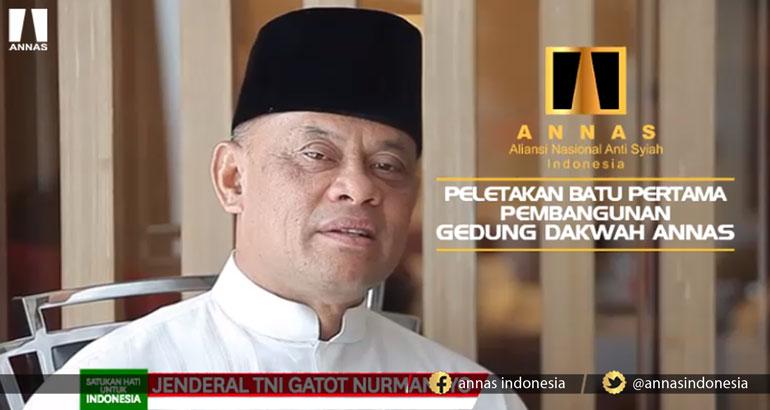 Gatot Nurmantyo : SATUKAN HATI UNTUK INDONESIA